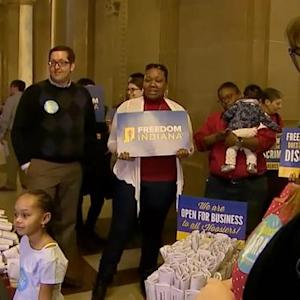 Indiana religious freedom bill sparks controversy