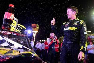 With a win in hand, Carl Edwards can finally have some fun