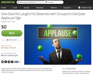 Groupon Features Free Father's Day Deals for Last-Minute Shoppers