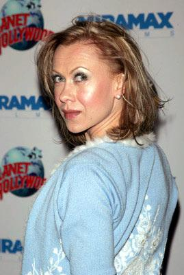 Oksana Baiul at the New York premiere of Miramax Films' Hostage