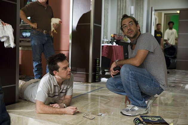 The Hangover Warner Brothers Production Photos 2009 Ed Helms Todd Phillips