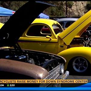 Motorcyclists raise money for Down syndrome center