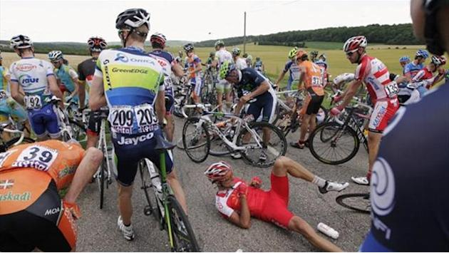 'Disaster day' at the Tour de France