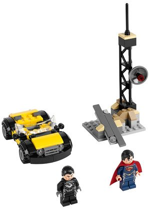 'Man of Steel' playset