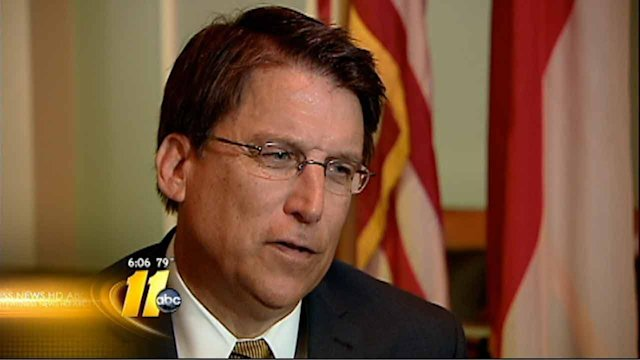 McCrory weighs in on state budget, protests