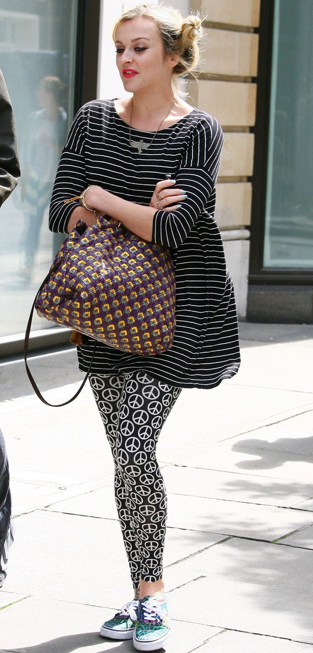 Fearne Cotton, pregnant