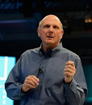 Microsoft CEO Steve Ballmer speaks on June 18 in Los Angeles, California. Microsoft on Monday announced a billion-dollar deal to buy startup Yammer which specializes in social networks for businesses