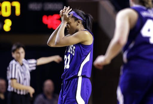 Navy women beat Holy Cross 72-53 to win Patriot