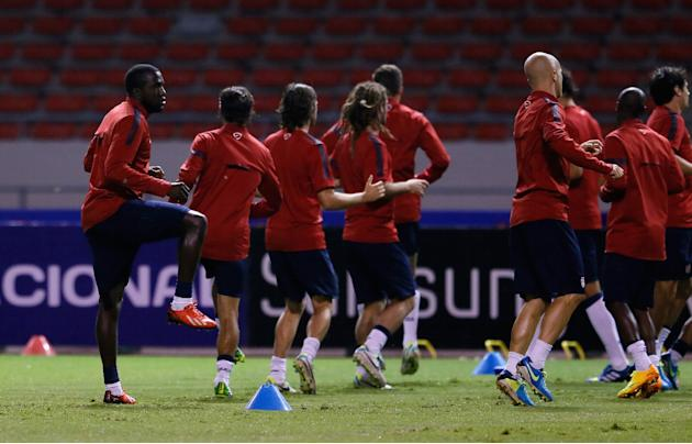 United States Training Session