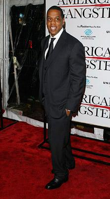 Shawn 'Jay-Z' Carter at the New York City premiere of Universal Pictures' American Gangster