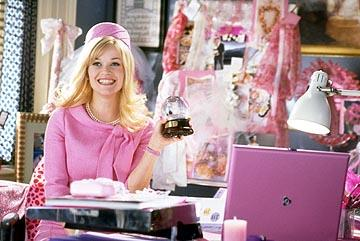 Reese Witherspoon as Elle Woods in MGM's Legally Blonde 2: Red, White & Blonde