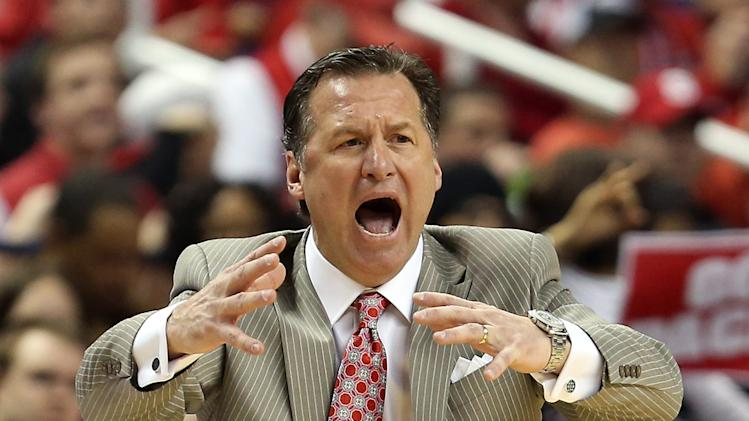 Mark Gottfried of the North Carolina State Wolfpack