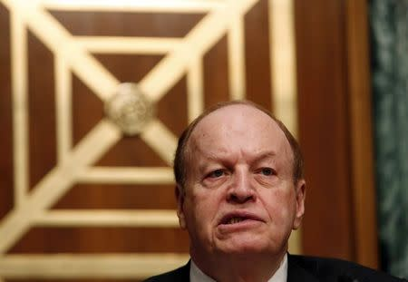 U.S. Senate banking chair says interested in Fed audit