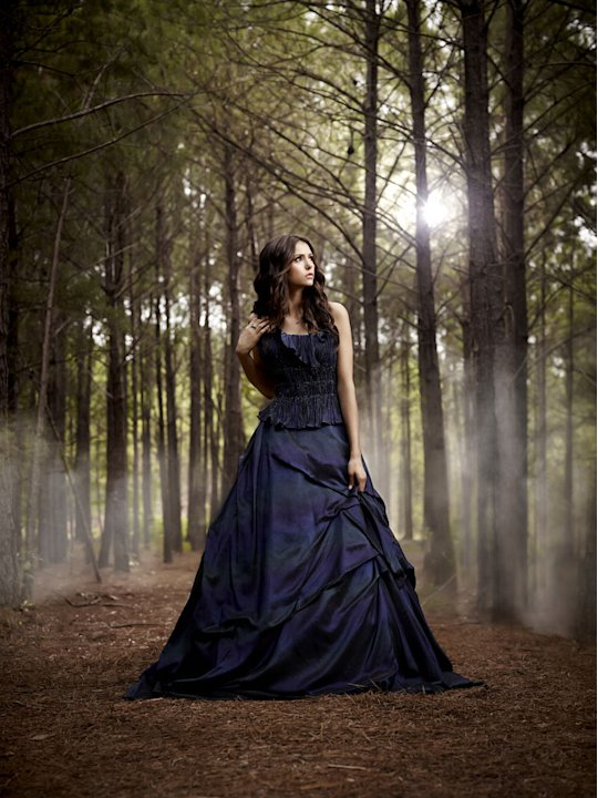 Nina Dobrev as Elena Gilbert in &quot;The Vampire Diaries.&quot; 