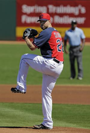 Santana homers for Indians in 12-7 win over Padres