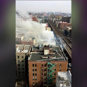 NYC Buildings Collapse In Explosion, 1 Dead