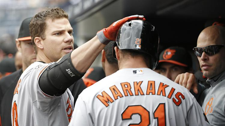 Young, Jones, Wieters HRs, Orioles batter Yankees