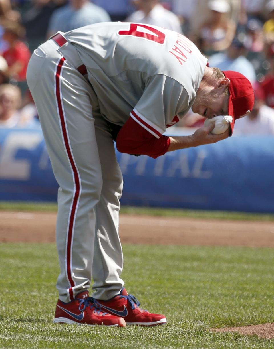 Phillies rally for 6-5 victory over Cubs