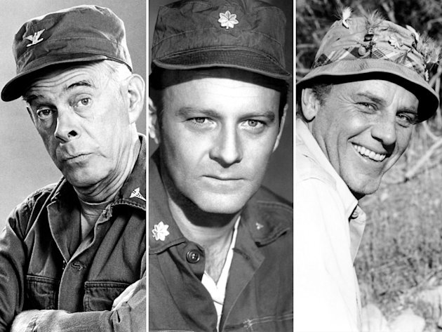 Harry Morgan, Larry Linville, …