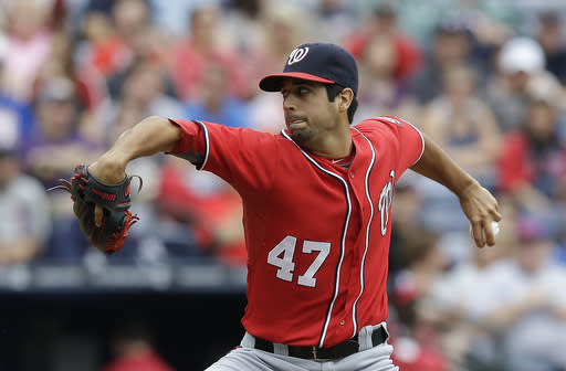 Braves beat Nats 2-1, lead NL East by 15 1-2 games