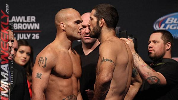 UFC on FOX 12 Weigh-in Results: Matt Brown Misses Weight (Updated)