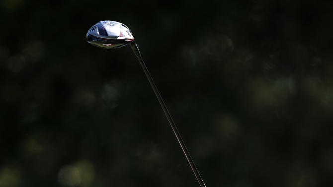 Jim Furyk watches his tee shot down the 10th fairway during the final round of the McGladrey Classic PGA Tour golf tournament on Sunday, Oct. 21, 2012 in St. Simons Island, Ga. (AP Photo/Stephen Morton)