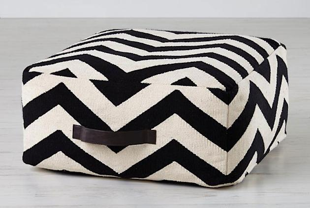 Instead of a Bean Bag, Try a Pouf