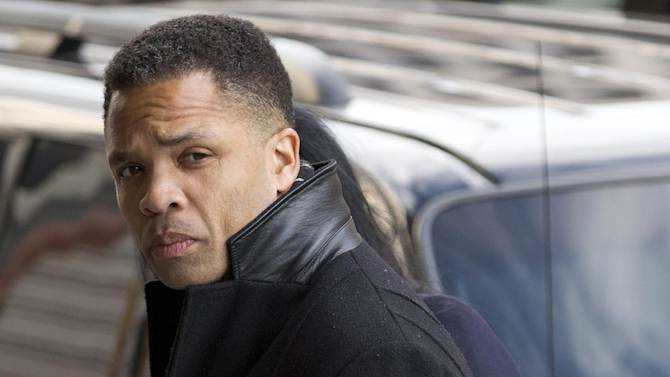 FILE - In this Feb. 20, 2013 file photo, former Illinois Rep. Jesse Jackson Jr. arrives at federal in Washington. Prosecutors are recommending four years in prison for Jackson following his guilty plea this year on criminal charges that he engaged in a scheme to spend $750,000 in campaign funds on personal items. The government is also recommending that Jackson be ordered to pay $750,000 in restitution to the campaign, and forfeit $750,000. (AP Photo/Evan Vucci, File)