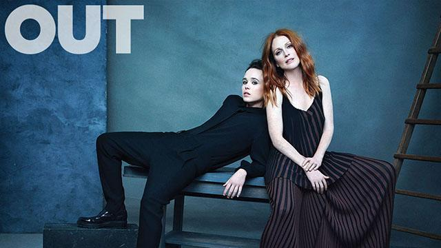How Ellen Page Taught Julianne Moore About the Pains of Being Closeted