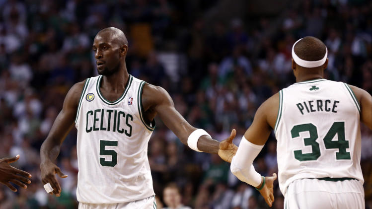 NBA: Playoffs-New York Knicks at Boston Celtics