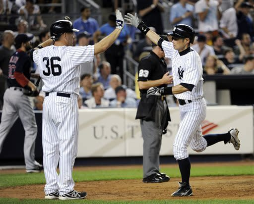 Yanks beat Boston 4-1 as Teixeira, Youkilis return