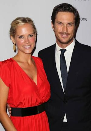 Erinn Bartlett and Oliver Hudson attend the 1st Annual Baby2Baby Gala at The BookBindery on November 3, 2012 in Culver City, Calif. -- Getty Images