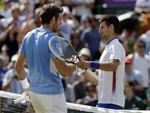 Del Potro beats Djokovic for Olympic bronze