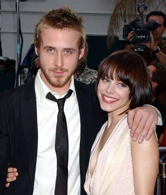 Ryan Gosling and Rachel McAdams at the Los Angeles premiere of New Line's The Notebook
