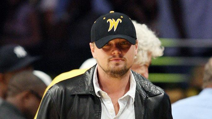 Dicaprio Leonardo Lakers Game