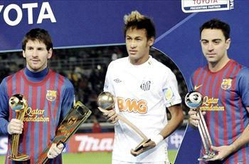 Neymar: Playing with Messi, Xavi and Iniesta an honor