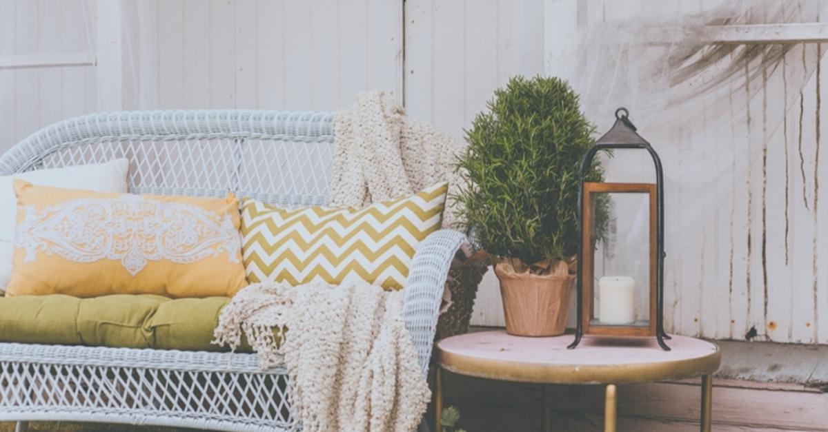 A Summer Garden Lounge With Pier 1 Imports