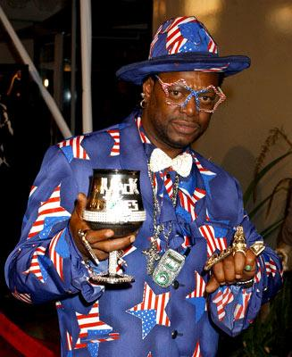 Bishop Don Magic Juan at the Hollywood premiere of Universal Pictures' Ray