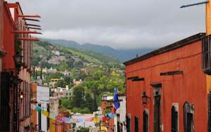 A view of San Miguel de Allende, in the Mexican state …