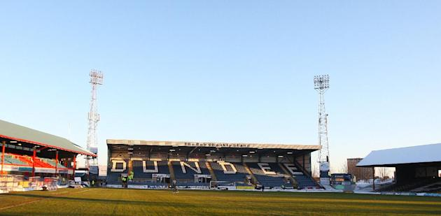 Dundee, who play at the pictured Dens Park, will be asked to join the SPL