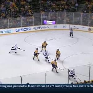 Pekka Rinne Save on Justin Williams (09:51/2nd)