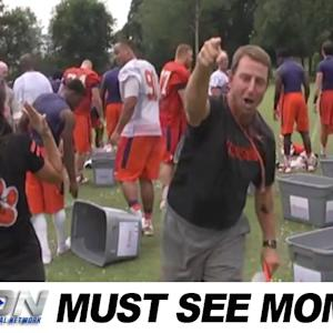 Dabo Swinney Joins the ALS Ice Bucket Challenge | Must See Moment