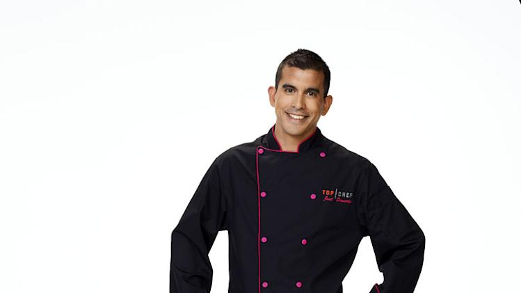 "Nelson Paz competes in season 2 of ""Top Chef Just Desserts."""