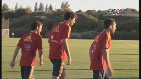 Spain stars prepare for London 2012