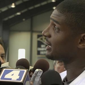 St. Louis Rams defensive end Michael Sam: 'It's not college anymore'