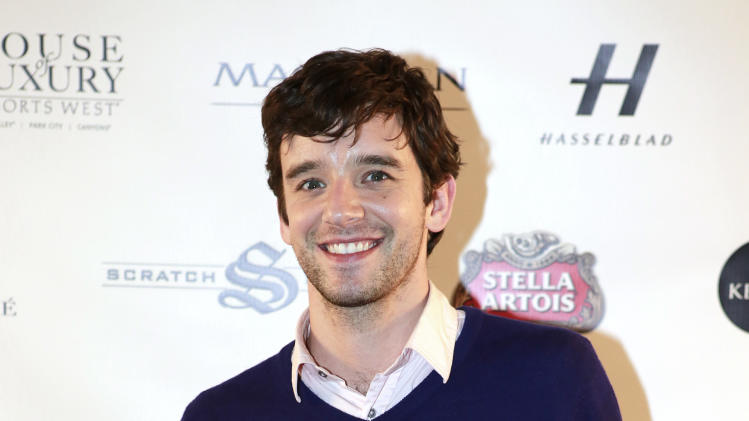 "Michael Urie from the film ""He's Way More Famous than You"" is seen at Resorts West House of Luxury, on Sunday, Jan. 20, 2013, in Park City, Utah. (Photo by Ben Cohen/Invision for Rand Luxury/AP Images)"
