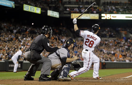 Orioles rally to beat Yankees 3-2