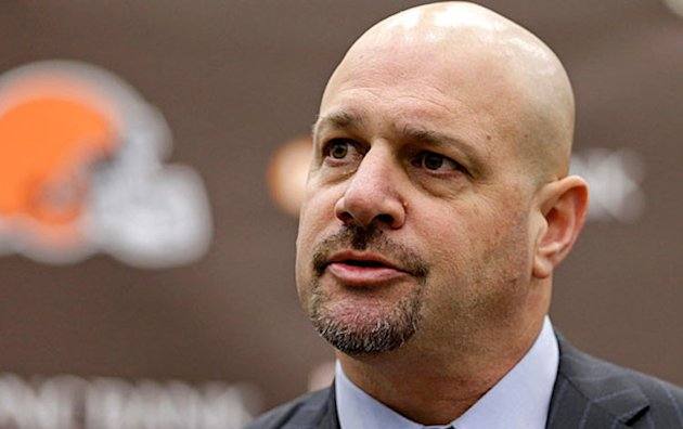 New Cleveland Browns coach Mike Pettine was once a successful prep football coach -- Associated Press