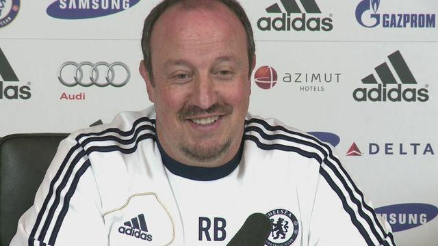 Benitez looks ahead to Anfield return [AMBIENT]
