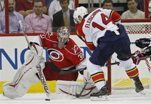 'Canes snap Panthers' 5-game win streak, 3-1